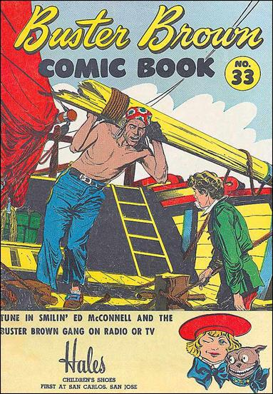 Buster Brown Comics 33-A by Brown Shoe Co.