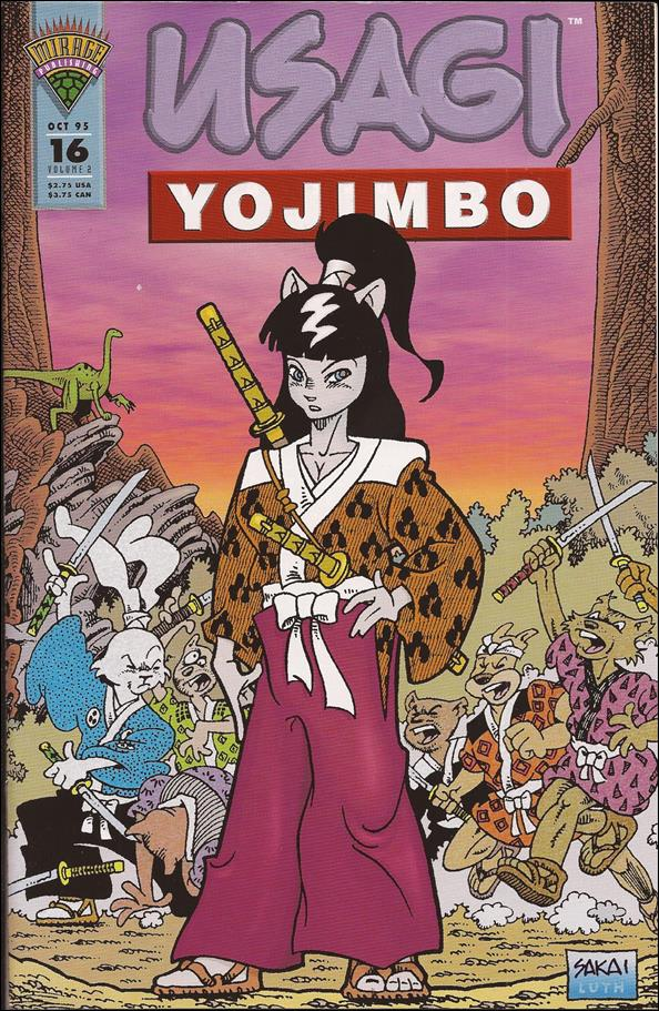Usagi Yojimbo (1993) 16-A by Mirage