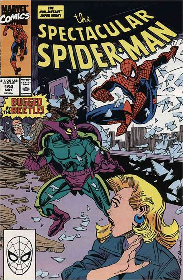 Spectacular Spider-Man (1976) 164-A by Marvel