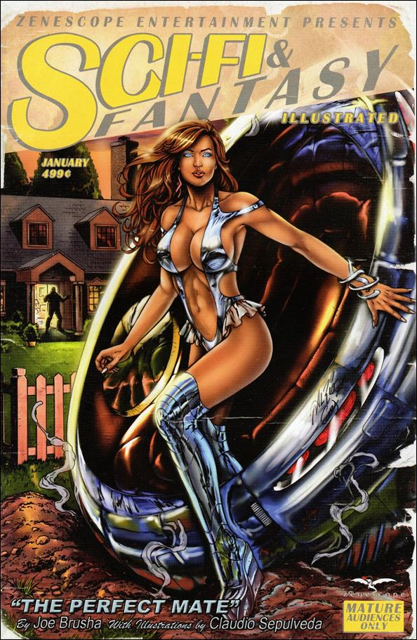 Sci-Fi & Fantasy Illustrated 1-A by Zenescope Entertainment