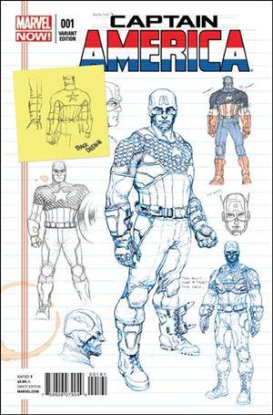 Captain America (2013) 1-B