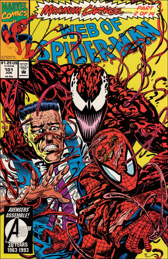 Web of Spider-Man (1985) 101-A by Marvel