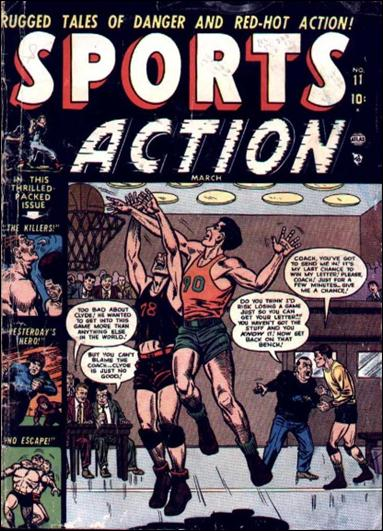 Sports Action 11-A by Marvel