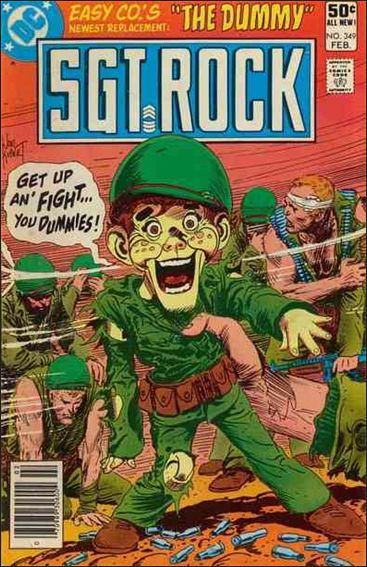Sgt. Rock (1977) 349-A by DC