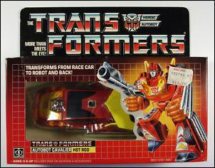 Transformers: More Than Meets the Eye (Generation 1) Hot Rod (Autobot Cavalier) by Hasbro