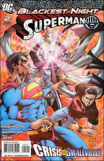 Blackest Night: Superman 2-B by DC