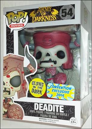 POP! Movies Deadite (Glow in the Dark) Convention Exclusive