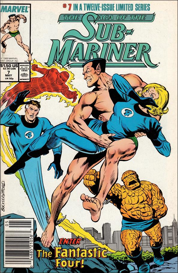 Saga of the Sub-Mariner 7-A by Marvel