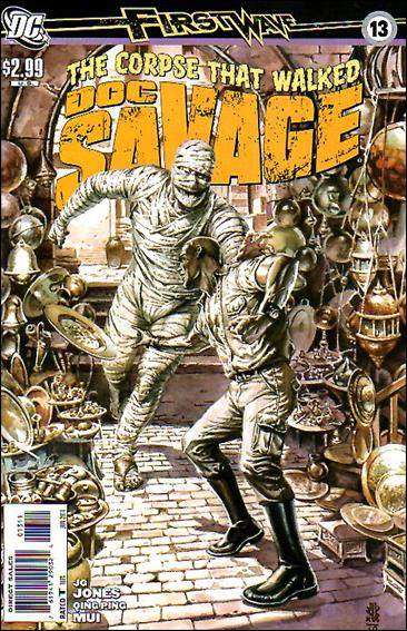 Doc Savage (2010) 13-A by DC
