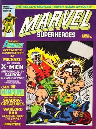 Marvel Superheroes (UK) 370-A