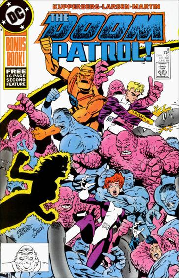 Doom Patrol (1987) 9-A by Vertigo
