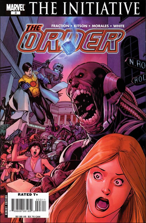 Order (2007) 3-A by Marvel