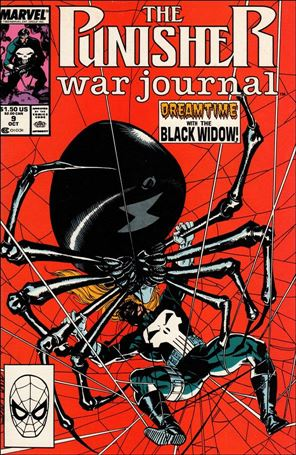 Punisher War Journal (1988) 9-A