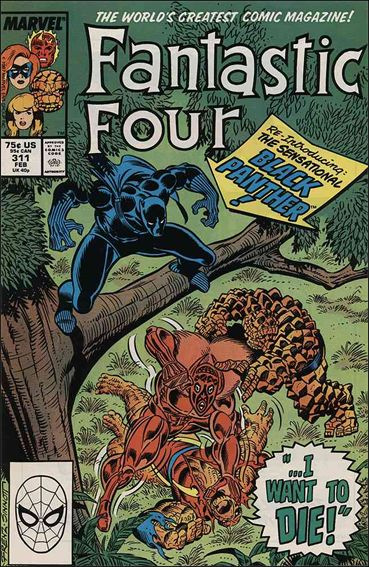 Fantastic Four (1961) 311-A by Marvel