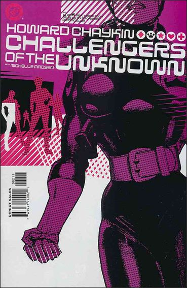 Challengers of the Unknown (2004) 2-A by DC