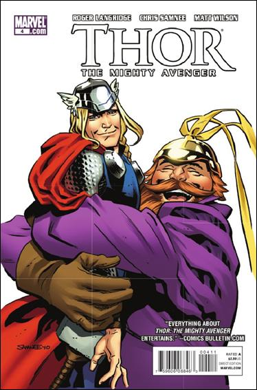 Thor The Mighty Avenger 4-A by Marvel