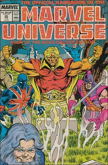 Official Handbook of the Marvel Universe (1985) 20-A by Marvel
