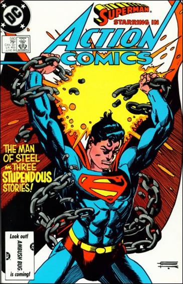 Action Comics (1938) 580-A by DC