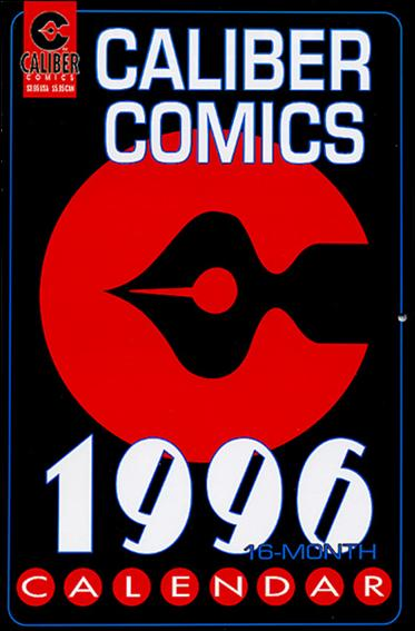 Caliber Comics 1996 Calendar 1-A by Caliber