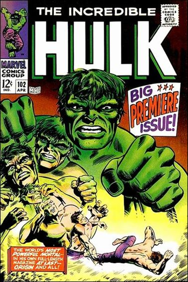 Incredible Hulk (1968) 102-A by Marvel