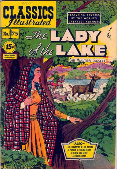 Classic Comics/Classics Illustrated 75-B by Gilberton