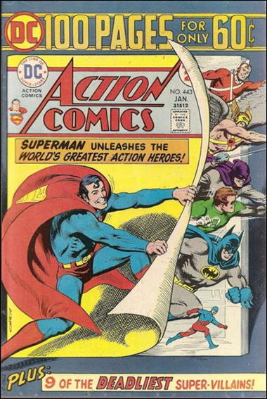 Action Comics (1938) 443-A by DC