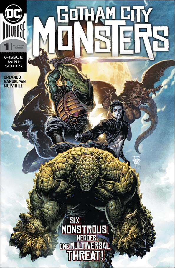 Gotham City Monsters 1-A by DC