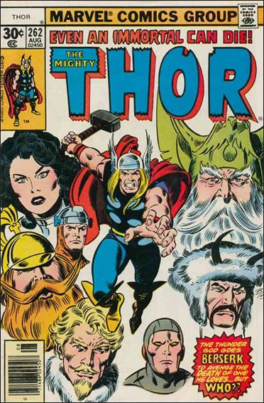 Thor (1966) 262-A by Marvel