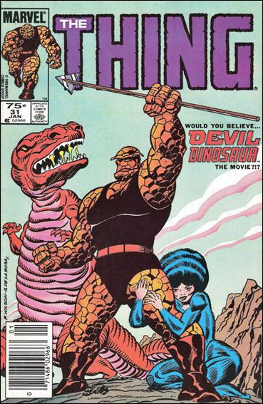 Thing (1983) 31-B by Marvel