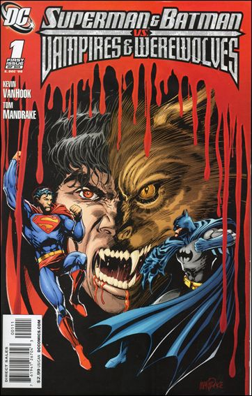 Superman and Batman vs Vampires and Werewolves 1-A by DC