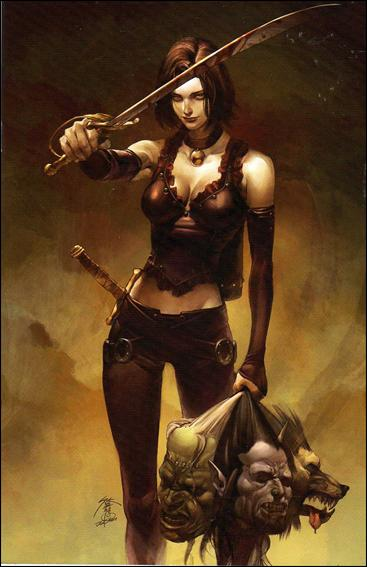 Eva: Daughter of the Dragon One-Shot 1-E by Dynamite Entertainment