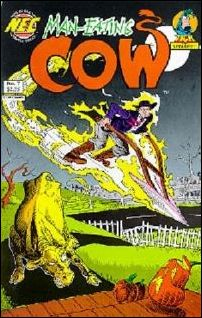 Man-Eating Cow 7-A by New England Comics Press (NEC / NECP)