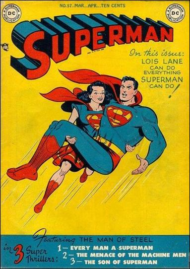 Superman (1939) 57-A by DC