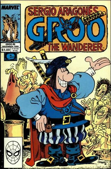Sergio Aragones Groo the Wanderer 46-A by Epic
