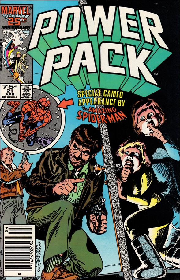 Power Pack (1984) 21-A by Marvel