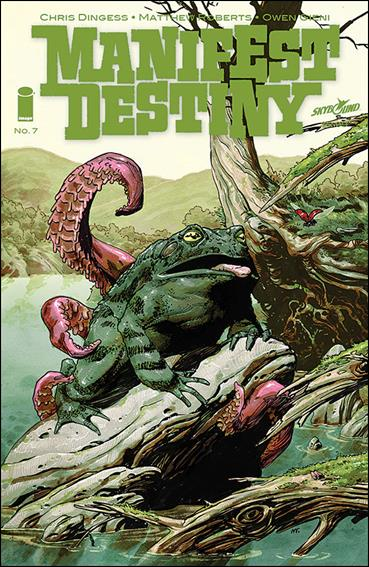 Manifest Destiny 7-A by Skybound Entertainment