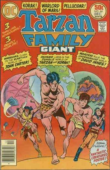 Tarzan Family 66-A by DC
