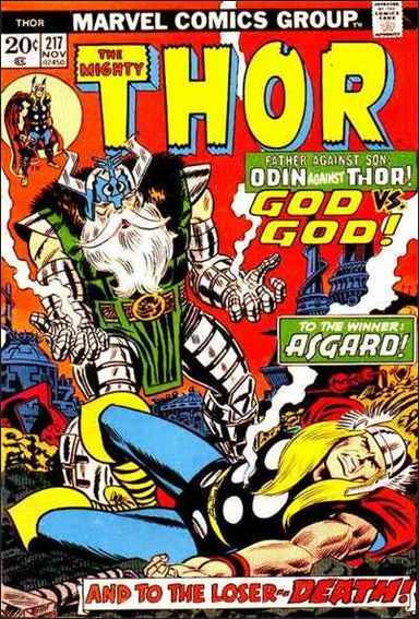 Thor (1966) 217-A by Marvel