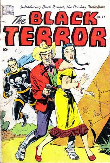 Black Terror (1942) 27-A by Nedor