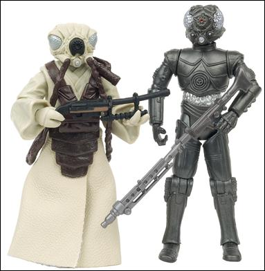 "Star Wars: Vintage Collection 3 3/4"" Figures (Exclusives) Zuckuss & 4-LOM Celebration V 2-Pack (Loose) by Hasbro"