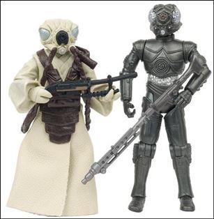 """Star Wars: Vintage Collection 3 3/4"""" Figures (Exclusives) Zuckuss & 4-LOM Celebration V 2-Pack (Loose)"""