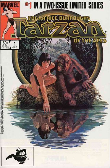 Tarzan of the Apes 1-A by Marvel