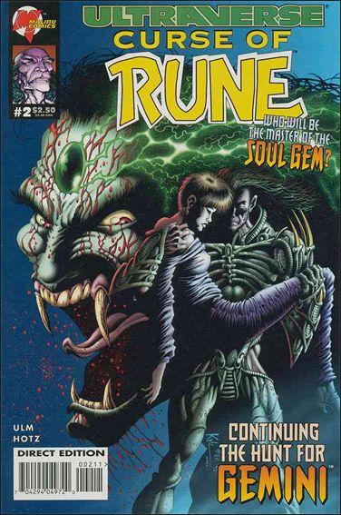 Curse of Rune 2-A by Malibu