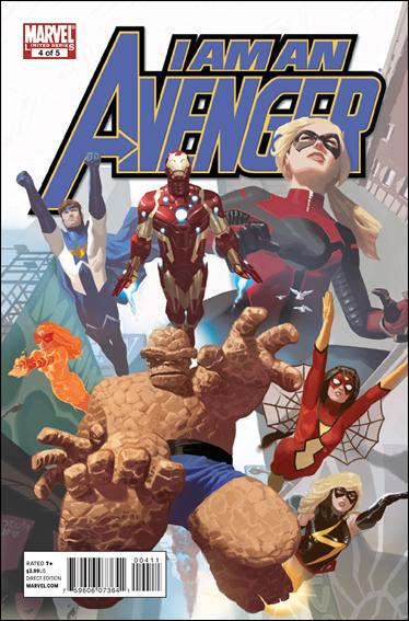 I Am An Avenger 4-A by Marvel