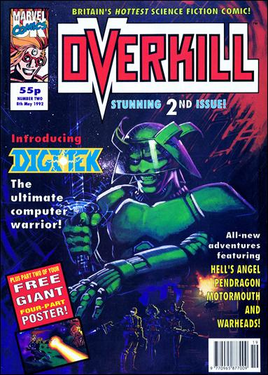 Overkill (UK) 2-A by Marvel UK