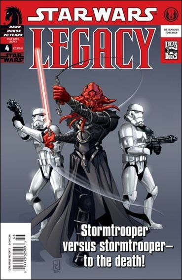 Star Wars: Legacy (2006) 4-A by Dark Horse