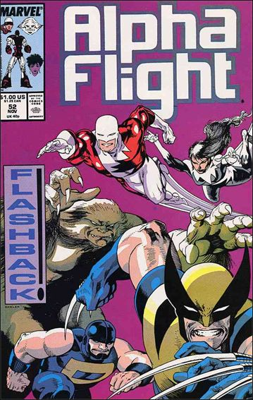 Alpha Flight (1983) 52-A by Marvel
