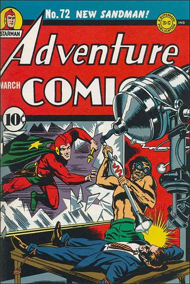 Adventure Comics (1938) 72-A by DC