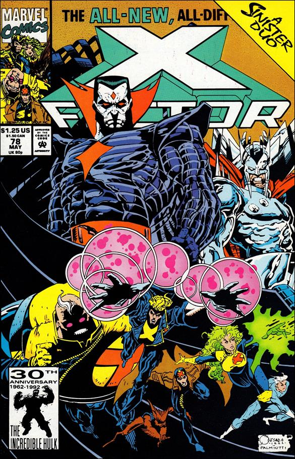 X-Factor (1986) 78-A by Marvel