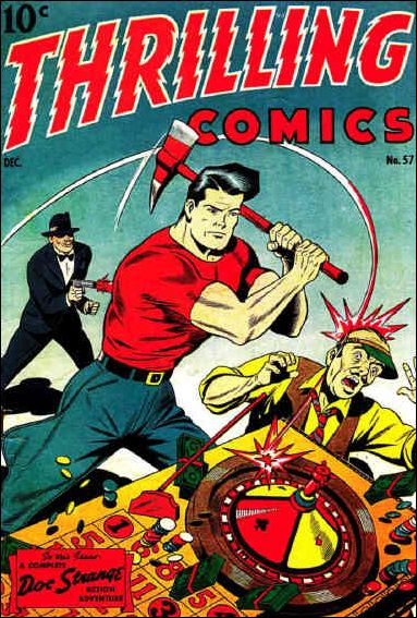 Thrilling Comics (1940) 57-A by Standard